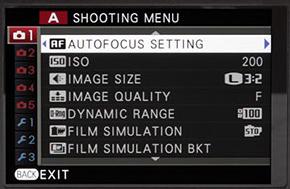 shooting menu2